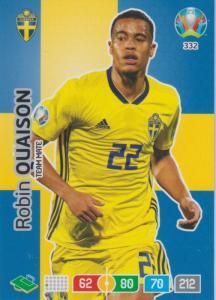 Adrenalyn Euro 2020 - 332 - Robin Quaison (Sweden) - Team Mate