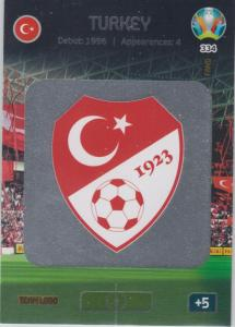 Adrenalyn Euro 2020 - 334 - Team Logo (Turkey) - Team Logo
