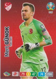 Adrenalyn Euro 2020 - 335 - Mert Günok / Mert Gunok (Turkey) - Team Mate