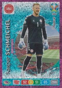 Adrenalyn Euro 2020 - 389 - Kasper Schmeichel (Denmark) - Goal Stopper