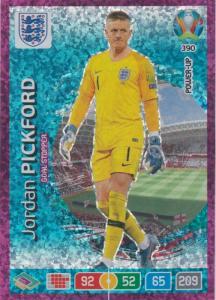 Adrenalyn Euro 2020 - 390 - Jordan Pickford (England) - Goal Stopper