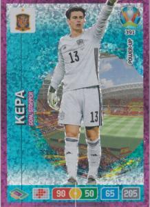 Adrenalyn Euro 2020 - 391 - Kepa (Spain)  - Goal Stopper