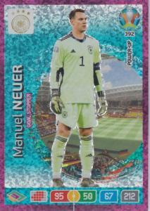 Adrenalyn Euro 2020 - 392 - Manuel Neuer (Germany) - Goal Stopper