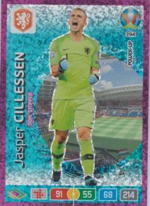 Adrenalyn Euro 2020 - 394 - Jasper Cillessen (Netherlands) - Goal Stopper