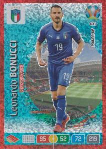 Adrenalyn Euro 2020 - 401 - Leonardo Bonucci (Italy) - Defensive Rock