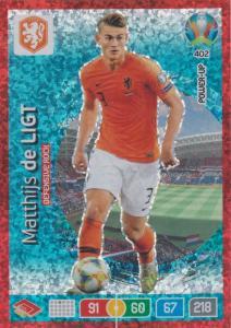 Adrenalyn Euro 2020 - 402 - Matthijs de Ligt (Netherlands) - Defensive Rock