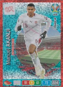 Adrenalyn Euro 2020 - 404 - Manuel Akanji (Switzerland) - Defensive Rock