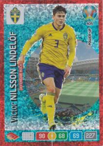 Adrenalyn Euro 2020 - 405 - Victor Nilsson Lindelöf (Sweden) - Defensive Rock