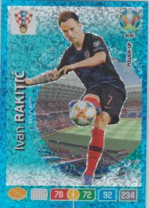 Adrenalyn Euro 2020 - 406 - Ivan Rakitić / Ivan Rakitic (Croatia) - Key-Player