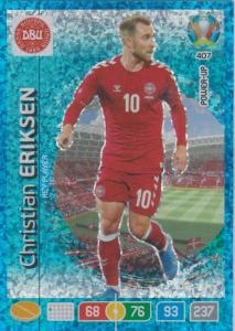 Adrenalyn Euro 2020 - 407 - Christian Eriksen (Denmark) - Key-Player