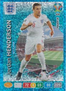 Adrenalyn Euro 2020 - 408 - Jordan Henderson (England) - Key-Player