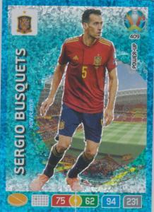 Adrenalyn Euro 2020 - 409 - Sergio Besquets (Spain) - Key-Player