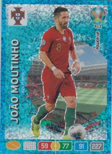 Adrenalyn Euro 2020 - 412 - João Moutinho (Portugal) - Key-Player