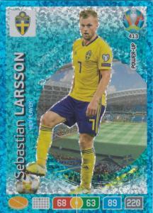 Adrenalyn Euro 2020 - 413 - Sebastian Larsson (Sweden) - Key-Player