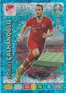 Adrenalyn Euro 2020 - 414 - Hakan Çalhanoğlu / Hakan Calhanoglu (Turkey) - Key-Player