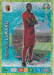 Adrenalyn Euro 2020 - 415 - Romelu Lukaku (Belgium) - Goal Machine