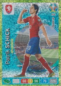 Adrenalyn Euro 2020 - 416 - Patrik Schick (Czech Republic) - Goal Machine