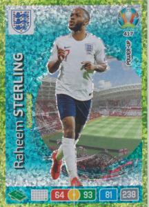 Adrenalyn Euro 2020 - 417 - Raheem Sterling (England) - Goal Machine