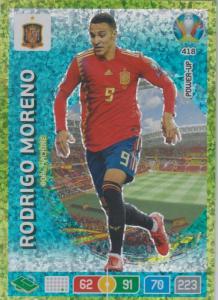 Adrenalyn Euro 2020 - 418 - Rodrigo Moreno (Spain) - Goal Machine