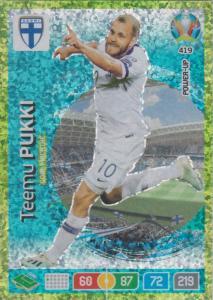 Adrenalyn Euro 2020 - 419 - Teemu Pukki (Finland) - Goal Machine
