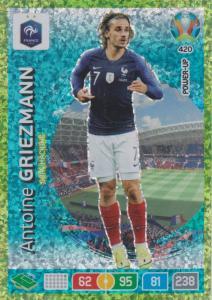 Adrenalyn Euro 2020 - 420 - Antoine Griezmann (France) - Goal Machine