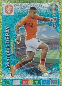 Adrenalyn Euro 2020 - 422 - Memphis Depay (Netherlands) - Goal Machine