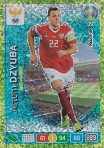 Adrenalyn Euro 2020 - 423 - Artem Dzyuba (Russia) - Goal Machine
