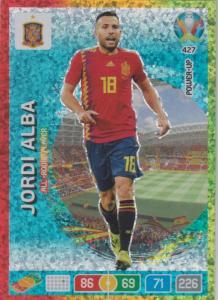Adrenalyn Euro 2020 - 427 - Jordi Alba (Spain) - All-Round Player