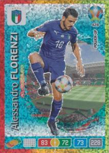 Adrenalyn Euro 2020 - 428 - Alessandro Florenzi (Italy) - All-Round Player
