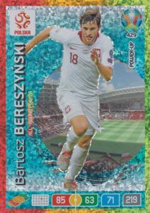 Adrenalyn Euro 2020 - 429 - Bartosz Bereszynski (Poland) - All-Round Player