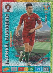 Adrenalyn Euro 2020 - 430 - Raphaël Guerreiro / Raphael Guerreiro (Portugal) - All-Round Player