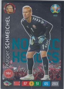 Adrenalyn Euro 2020 - 469 - Kasper Schmeichel (Denmark) - Nordic Heroes