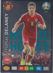 Adrenalyn Euro 2020 - 472 - Thomas Delaney (Denmark) - Nordic Heroes