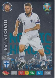 Adrenalyn Euro 2020 - 473 - Joona Toivio (Finland) - Nordic Heroes