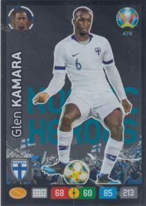 Adrenalyn Euro 2020 - 474 - Glen Kamara (Finland) - Nordic Heroes