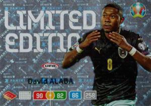 Adrenalyn Euro 2020 - David Alaba (Austria) - Limited Edition