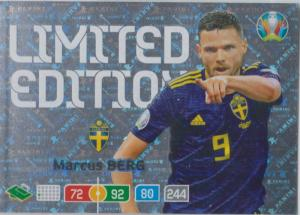 Adrenalyn Euro 2020 - Marcus Berg (Sweden) - Limited Edition