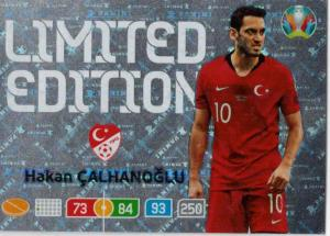 Adrenalyn Euro 2020 - Hakan Çalhanoğlu / Hakan Calhanoglu (Turkey) - Limited Edition