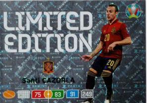 Adrenalyn Euro 2020 - Santi Cazorla (Spain) - Limited Edition