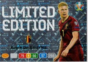 Adrenalyn Euro 2020 - Kevin De Bruyne (Belgium) - Limited Edition