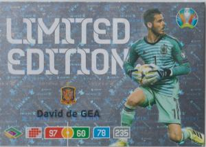Adrenalyn Euro 2020 - David De Gea (Spain) - Limited Edition