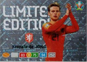 Adrenalyn Euro 2020 - Frenkie de Jong (Netherlands) - Limited Edition