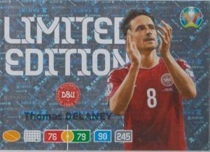 Adrenalyn Euro 2020 - Thomas Delaney (Denmark) - Limited Edition
