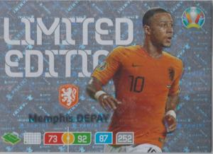 Adrenalyn Euro 2020 - Memphis Depay (Netherlands) - Limited Edition