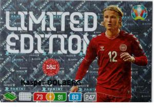 Adrenalyn Euro 2020 - Kasper Dolberg (Denmark) - Limited Edition