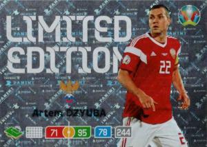 Adrenalyn Euro 2020 - Artem Dzyuba (Russia) - Limited Edition