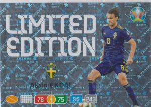Adrenalyn Euro 2020 - Albin Ekdal (Sweden) - Limited Edition