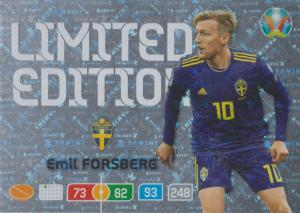 Adrenalyn Euro 2020 - Emil Forsberg (Sweden) - Limited Edition