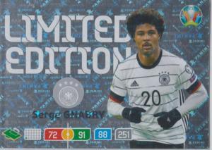 Adrenalyn Euro 2020 - Serge Gnabry (Germany) - Limited Edition