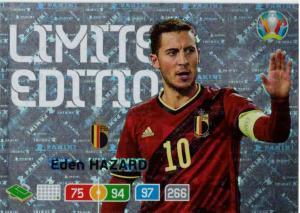 Adrenalyn Euro 2020 - Eden Hazard (Belgium) - Limited Edition